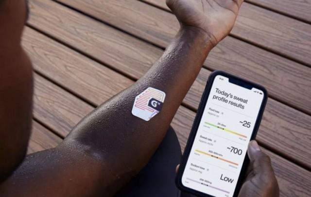Gatorade lança adesivo que avisa sobre desidratação durante a atividade  física - Folha de Alphaville